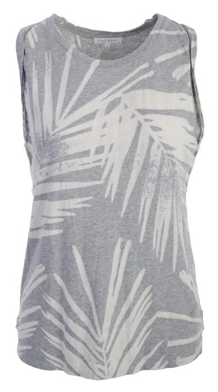Calder Louise Tank Palm Print