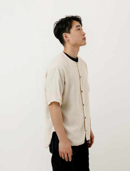 Tender Mens 426 Edited Short Sleeve Tail Shirt Rinsed Cotton