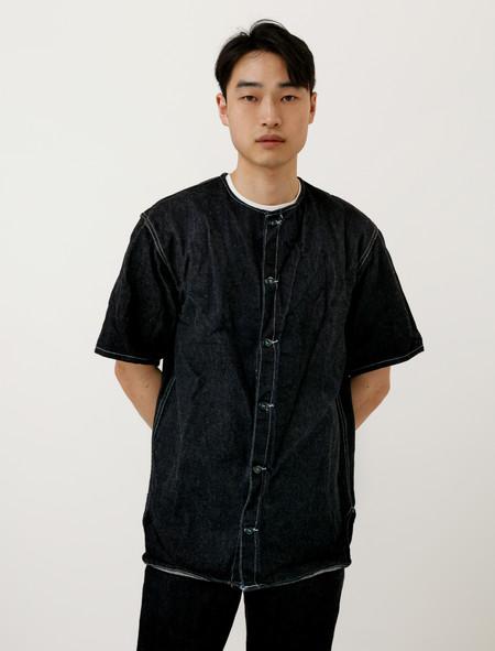 Tender Mens 926 Edited Short Sleeve Tail Jacket Softened Denim