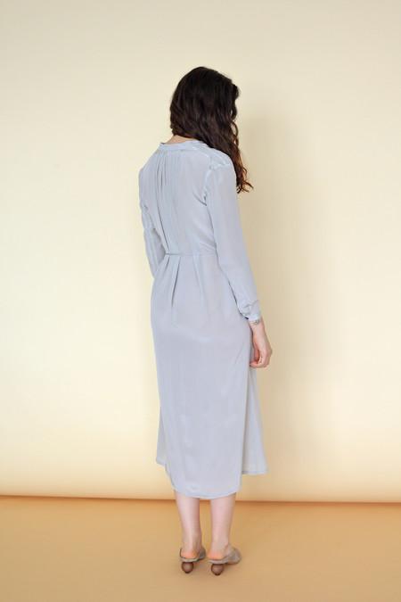 Wolcott : Takemoto Silk Vashon Dress in Dime