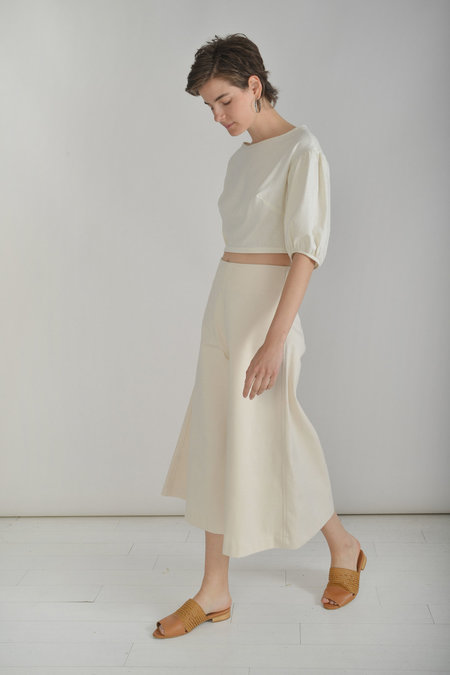 Town Clothes Quintana Culottes in Ginger Cotton Canvas