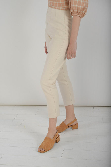 Town Clothes Quintana Pant in Ginger Canvas Cotton