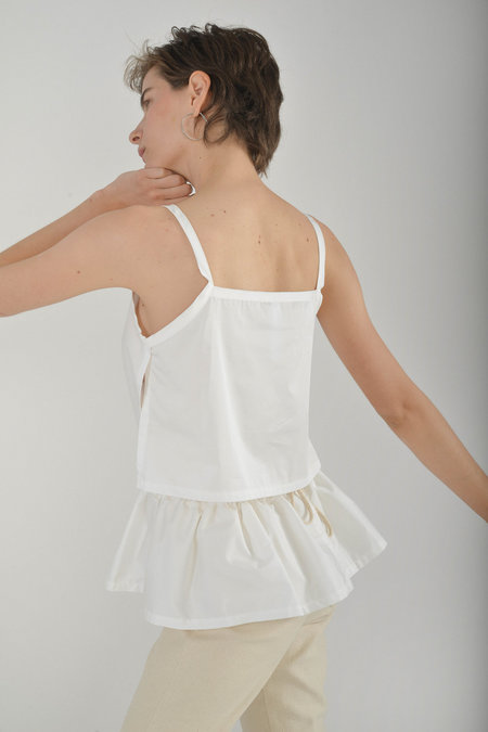 Desiree Klein Hedy Top in White
