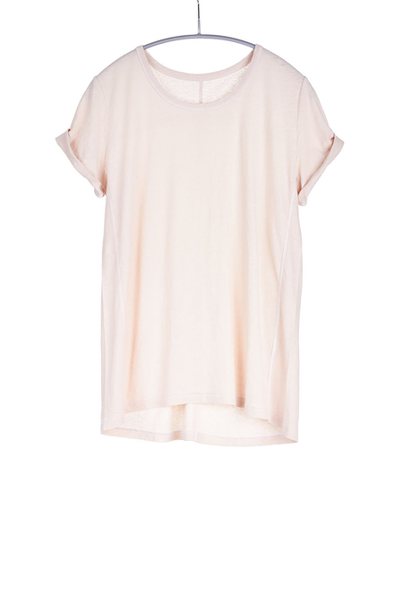 Paychi Guh Linen/Cotton Baby Tee Nude