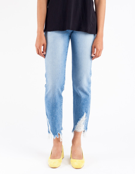 3x1 W3 Higher Ground Boyfriend Crop Jean Dover