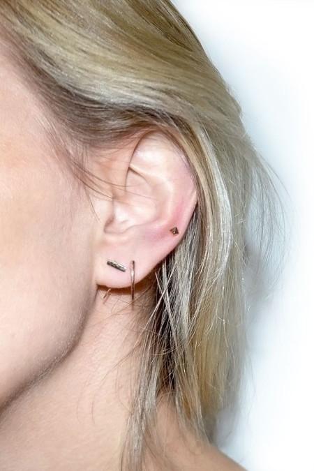Gabriela Artigas Bar on Infinite Tusk Earring - 14K Gold