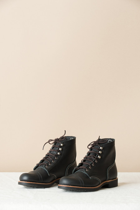 Redwing Iron Ranger In Black Boundary