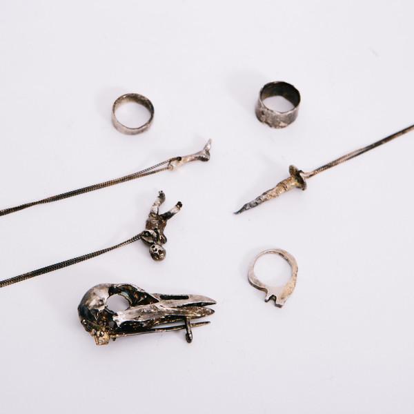 Alice Waese Silver Stitch Ring