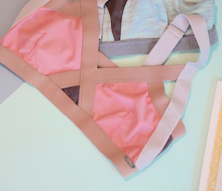 VPL Neo Insertion Bra W: Blush