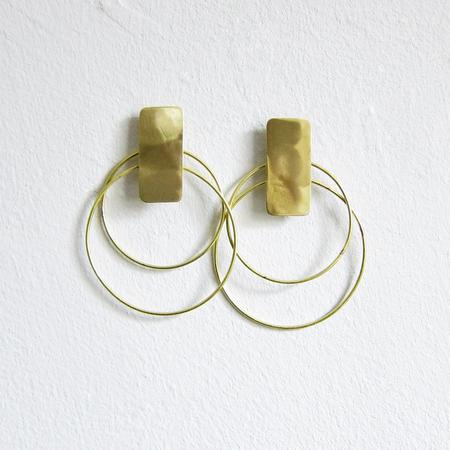 Sibilia two orbits earrings