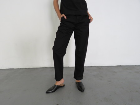 KOWTOW COMPOSITION PANT - BLACK
