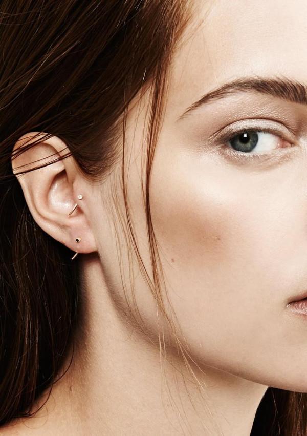 Gabriela Artigas & Company 14K White Diamond Single Tusk