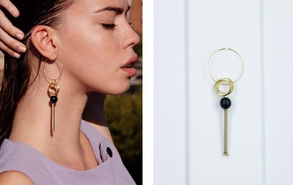 Sorelle Gold Anja Earring