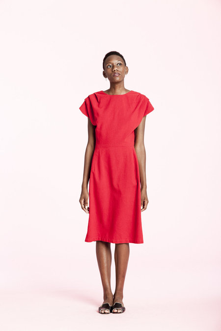Carleen James Dress - Red