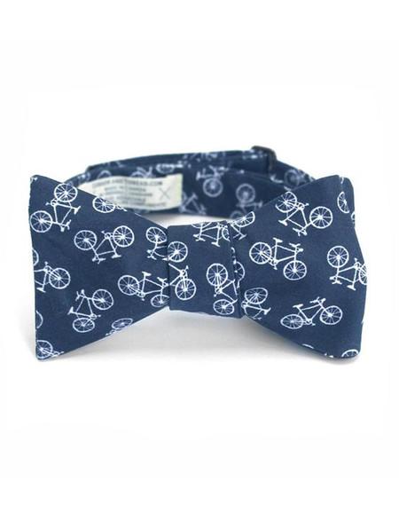Cursor and Thread Bow Tie Bike Print