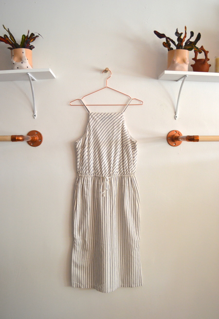Apron Stripe Dress