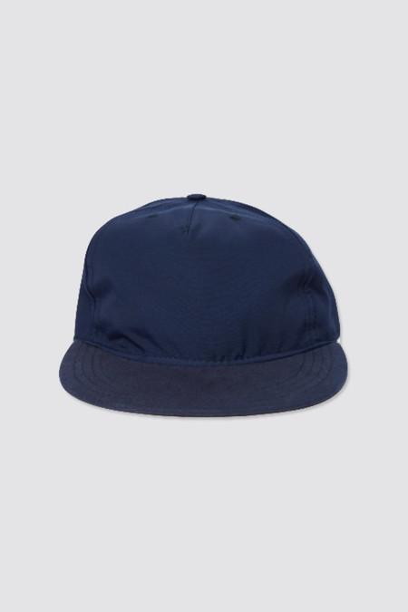 Paa Pleat Cap Navy