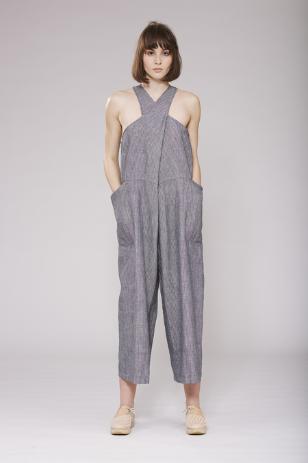 Study NY Tank Suit - Charcoal
