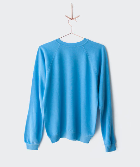 BILLY 1970's Baby Blue Raglan Sweatshirt