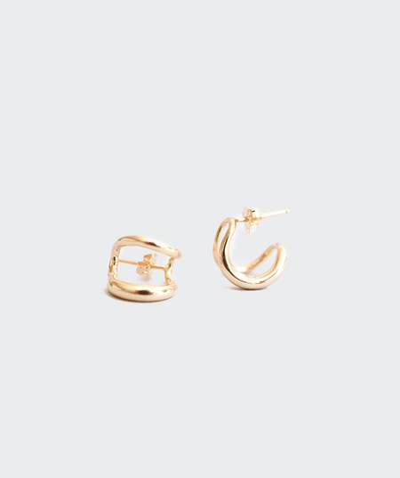 Gabriela Artigas Twin Tusk Earrings