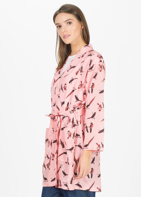 Laura Urbinati Short Kimono Robe