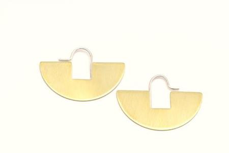 Lumafina Arco Iris Hoops - Small