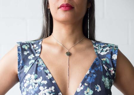 Sarah Mulder Reckless Necklace - Short, Silver