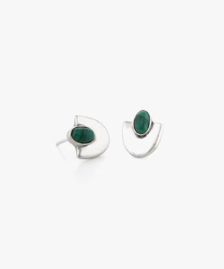 Dream Collective Malachite Deco Studs #4