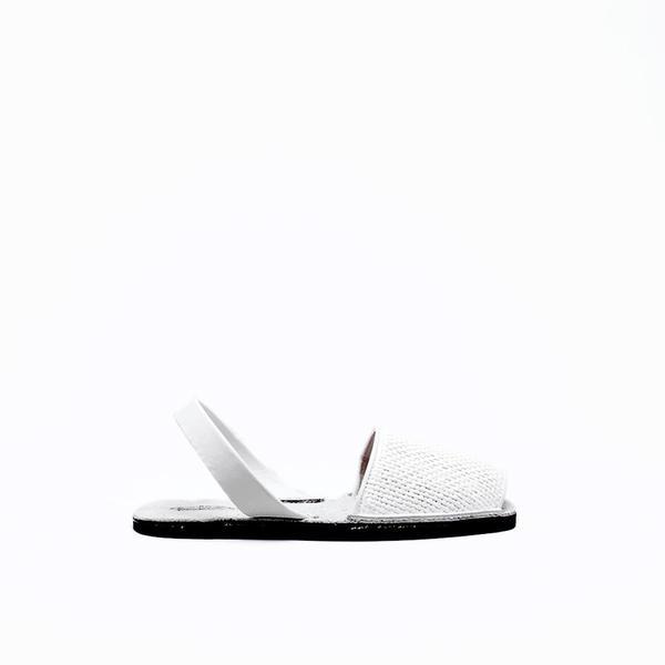 Riudavets Avarca Sandals - White Basket