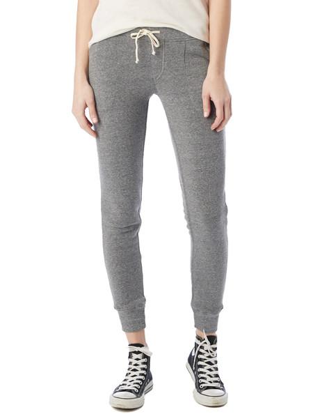 Alternative Apparel Eco-Fleece Jogger Pants in Grey