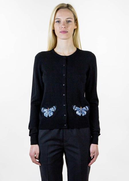 Markus Lupfer April Embellished Butterfly Cardigan