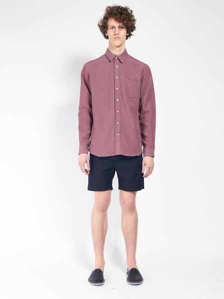 Journal Taper Theo Oxford Shorts