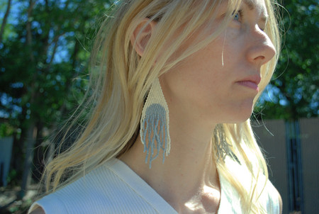 Blackbird Dagger Anatole Earrings - Large