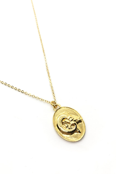 Talon Gold Aries Necklace