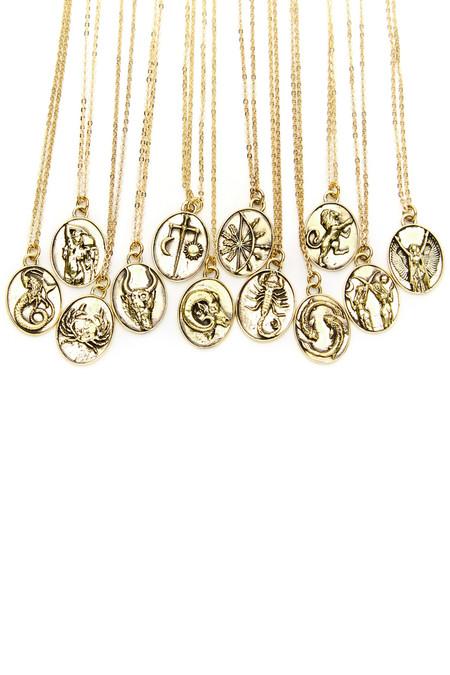Talon Gold Sagittarius Necklace