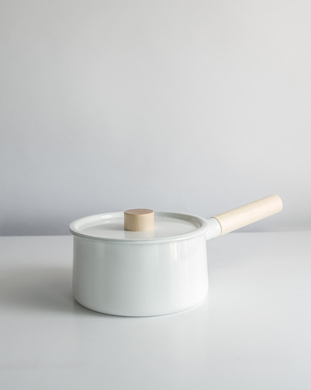Saikai Japanese Enameled Saucepan