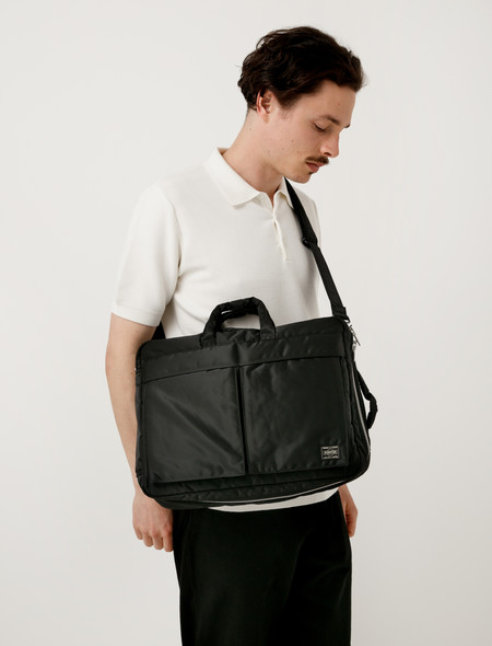 Porter Tanker 3Way Briefcase Black