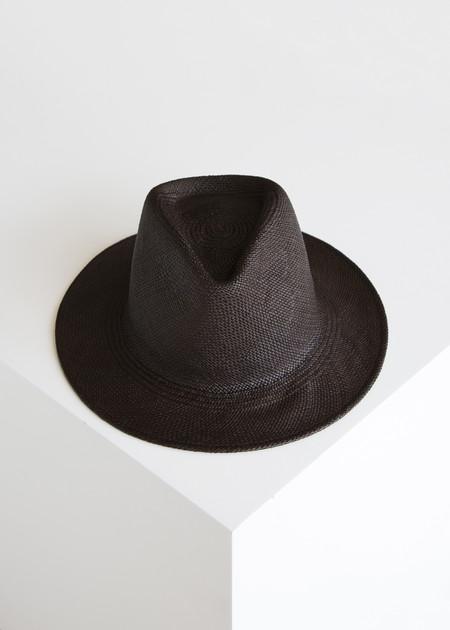 Clyde Shade Panama Hat Espresso/Panama Straw