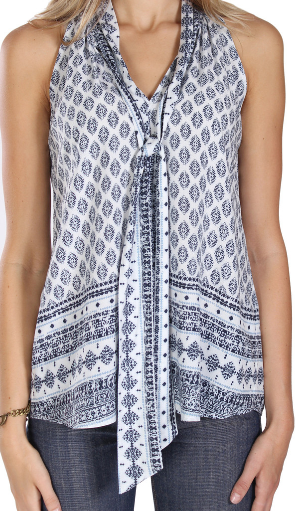 DREW Lily Tie Sleeveless Top