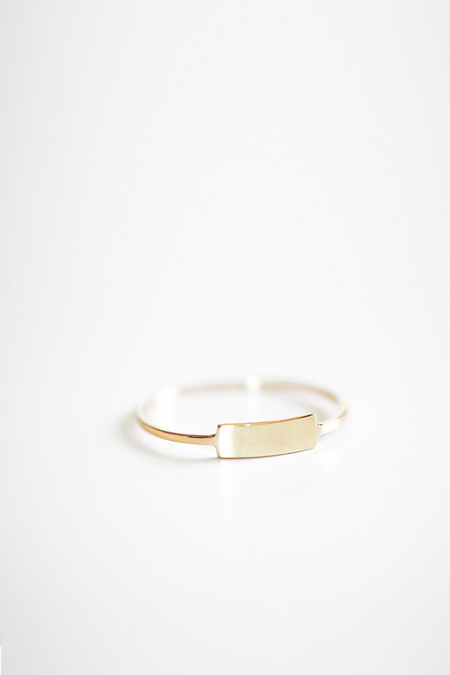 Kristen Elspeth Gold Blade Ring