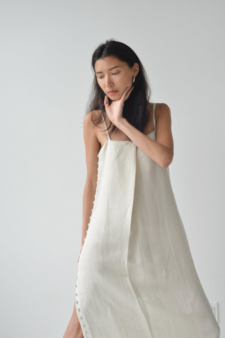 Ajaie Alaie Full Moon Dress in White Sands