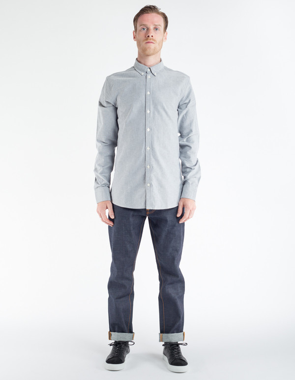 Men's Minimum Chris Shirt Silver Grey