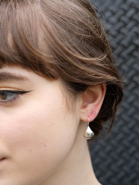 Uni Jewelry CIA Earrings In Silver