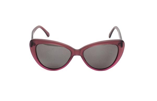 Prism Capri Sunglasses in Matte Plum Gradient