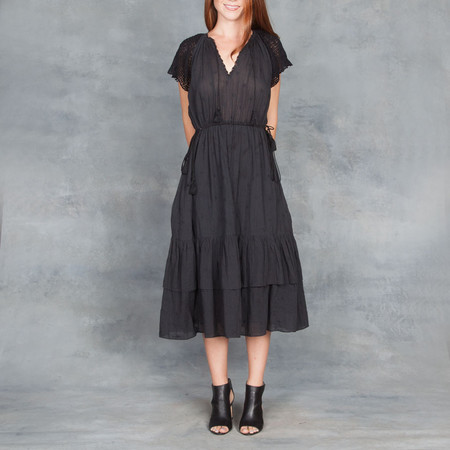 Ulla Johnson Pauline Dress in Black