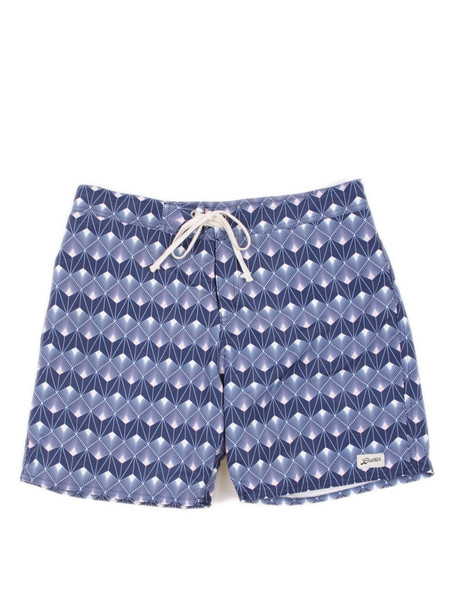 Bather Blue Palm Surf Trunk