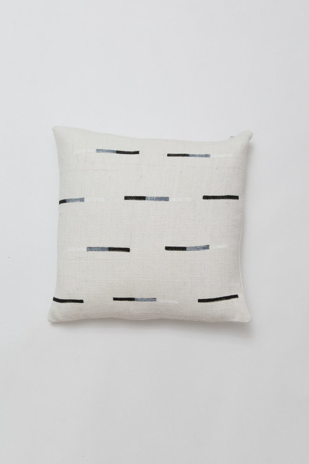 Caroline Z Hurley Yucatan Dashes Pillow - black