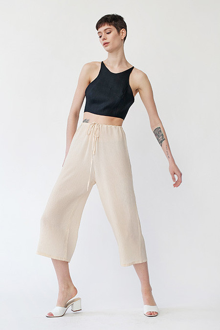 Caves Collect Meg Lace-Up Top