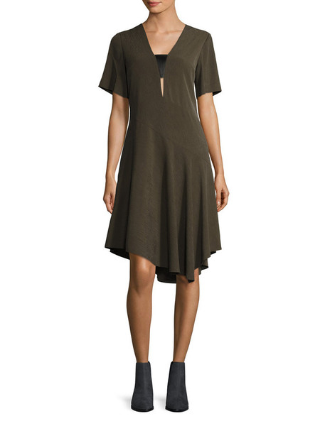 Cosette Clothing Serena Dress Olive