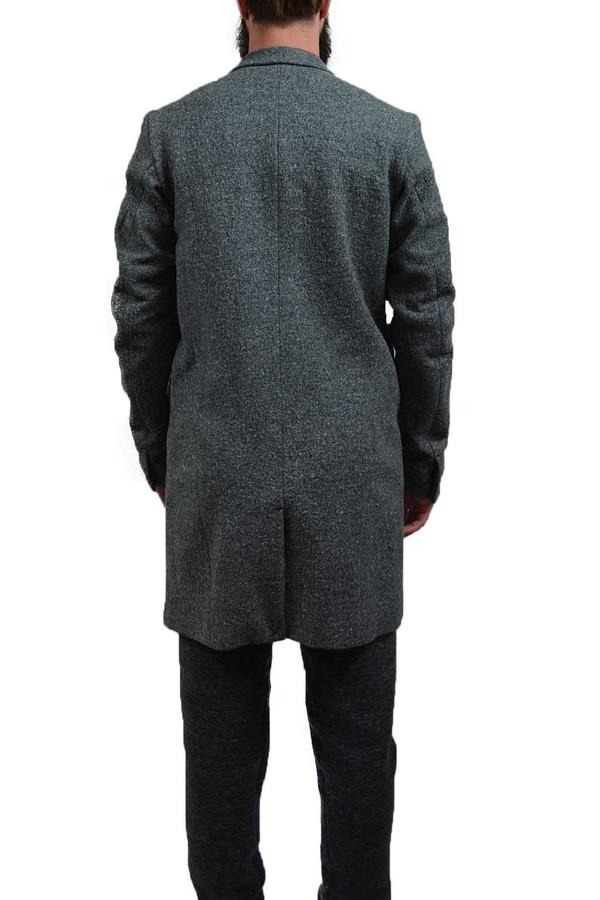 Men's Wings + Horns Knit Wool Top Coat
